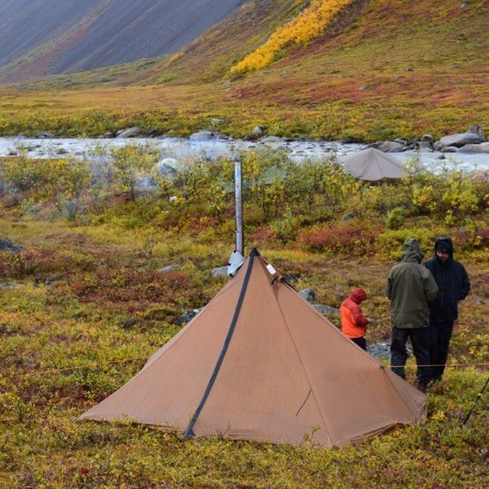 Cimarron Pyramid Tent - Отапливаемые палатки Топ-10 палаток. ЧаВо, полезные советы