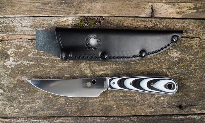 Spyderco Bow River FB46G - охотничий нож для освежевания и разделки дичи